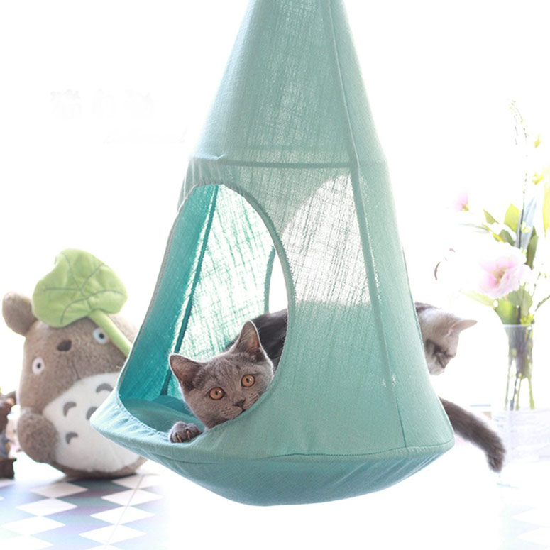 Hanging Hammock Cat Bed