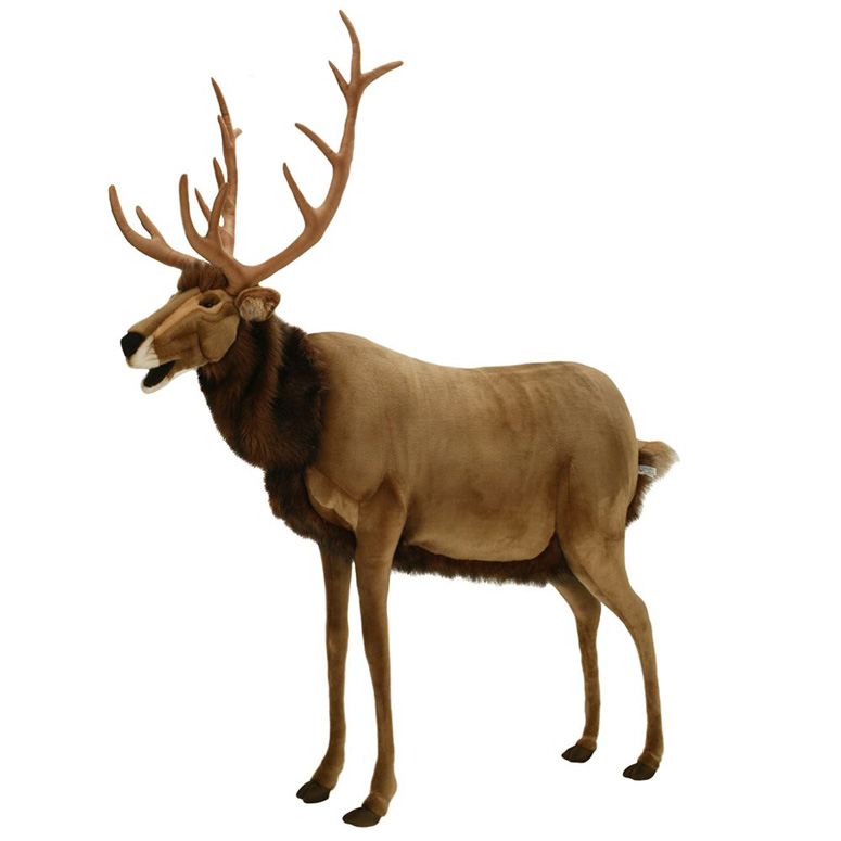 Hansa Lifesize Animated Talking Reindeer