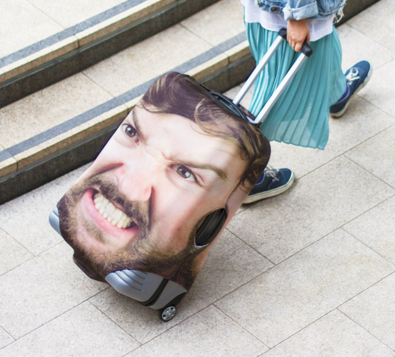 Head Case - In-Your-Face Luggage Covers