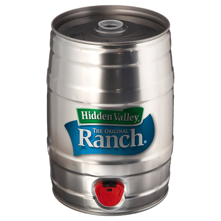 Hidden Valley Ranch Mini Keg - One Year Supply!