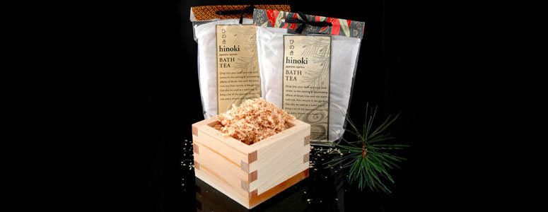Hinoki - Japanese Cypress Bath Tea Bags