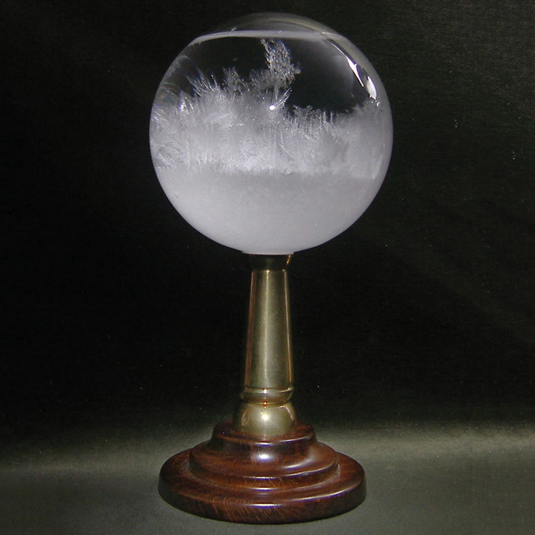H.M.S. Beagle Admiral's Storm Glass - Mysterious Weather Forecasting Instrument