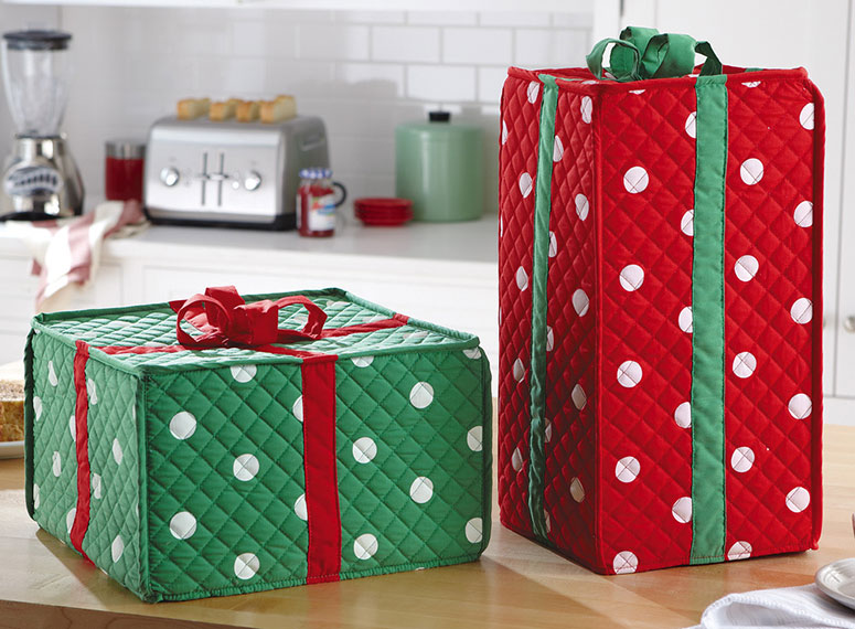 Charmant Holiday Gift Box Kitchen Appliance Covers