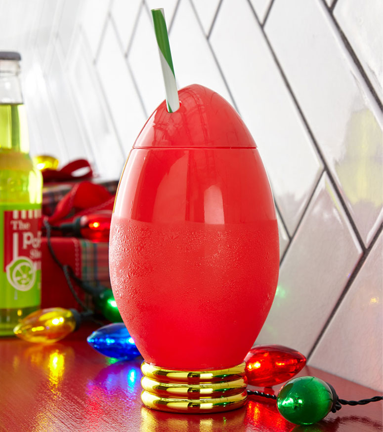 Holiday Light Bulb Party Cup