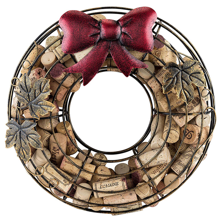 Holiday Wreath Cork Catcher