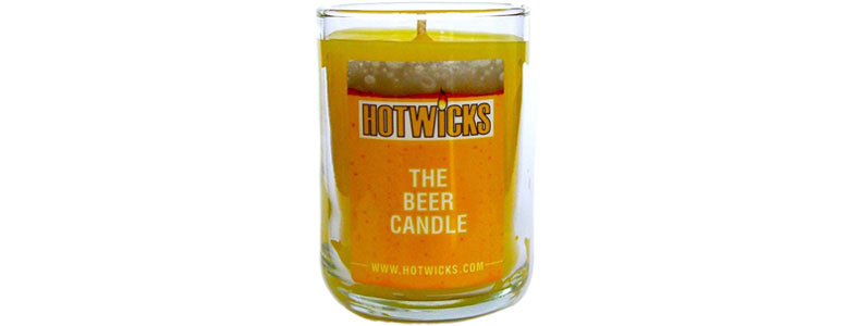 Hotwicks Beer Scented Candle
