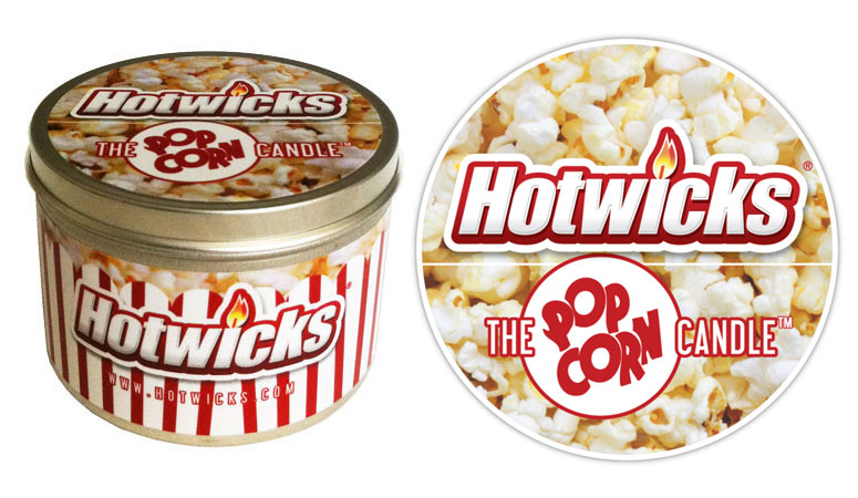 Hotwicks Popcorn Candle