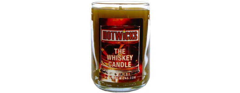 Hotwicks Whiskey Scented Candle