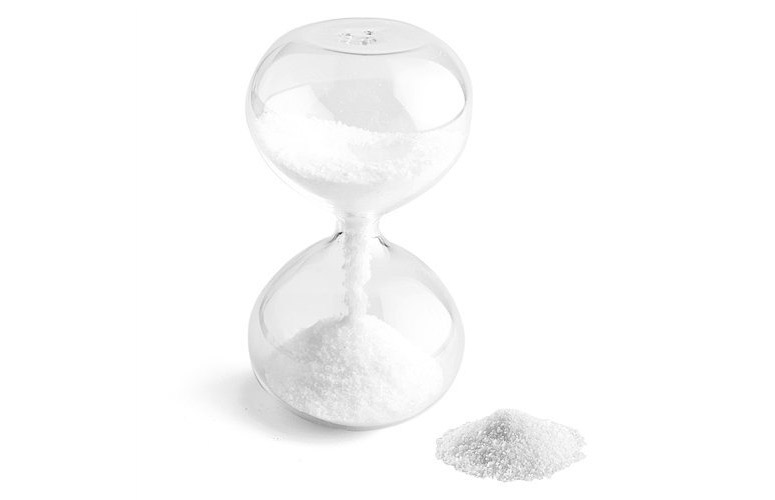Hour Glass Salt Shaker