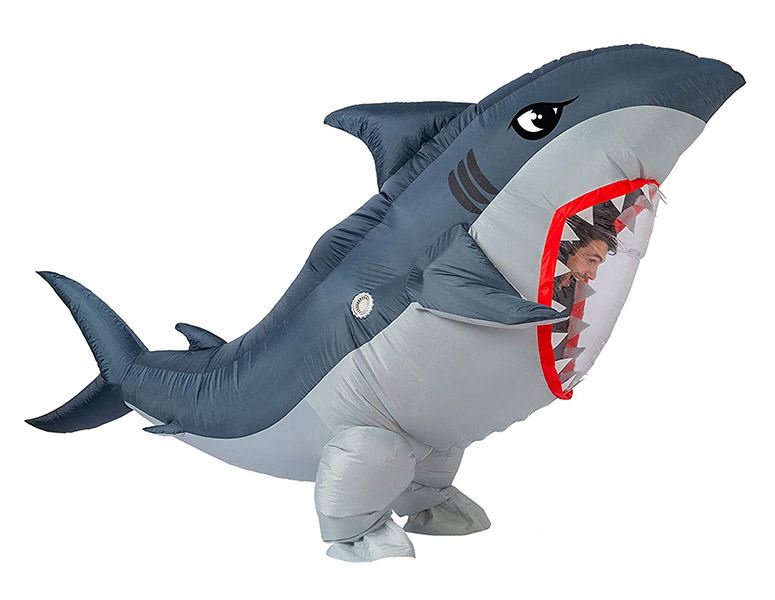 Huge Inflatable Shark Costume