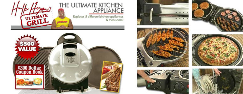 Hulk Hogan's Ultimate Grill - The Ultimate Kitchen Appliance! - The ...