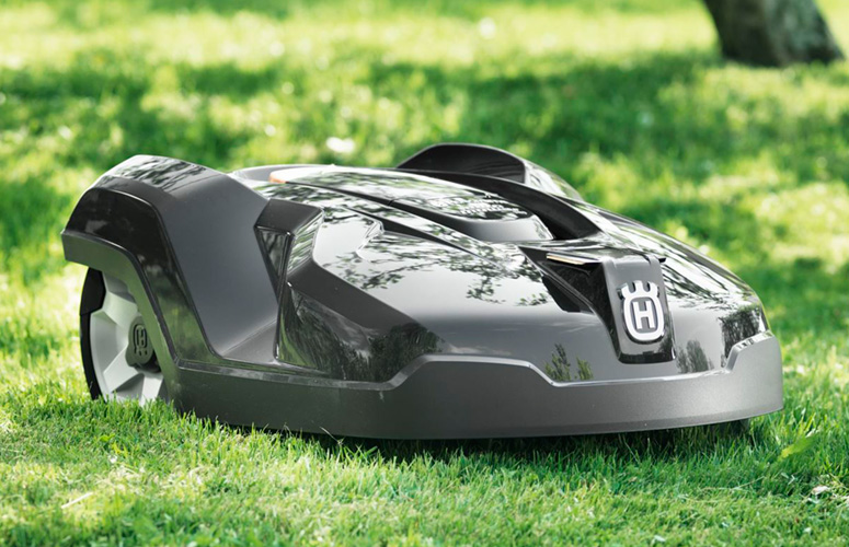 Husqvarna automower robotic lawn mower the green head for Husqvarna robot