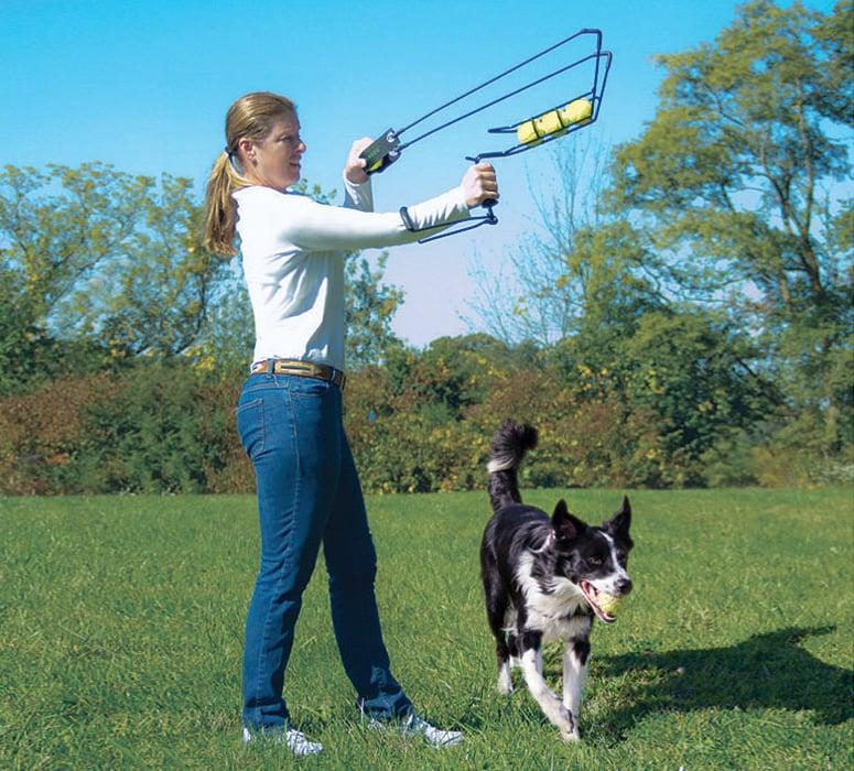 Hyperactive Puppy: HyperDog 4 Ball Launcher