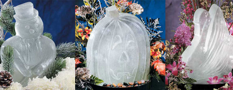 Ice Sculpture Molds - No Chainsaw Needed!