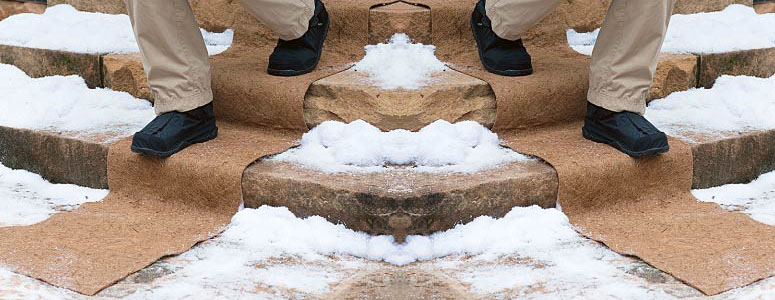 Biodegradable Ice/Snow Carpets