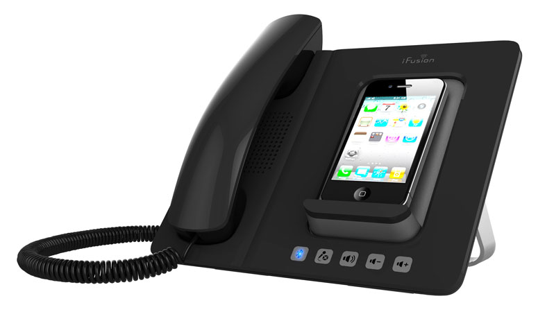 iFusion Smartstation - iPhone Handset and Speakerphone Dock - The Green Head