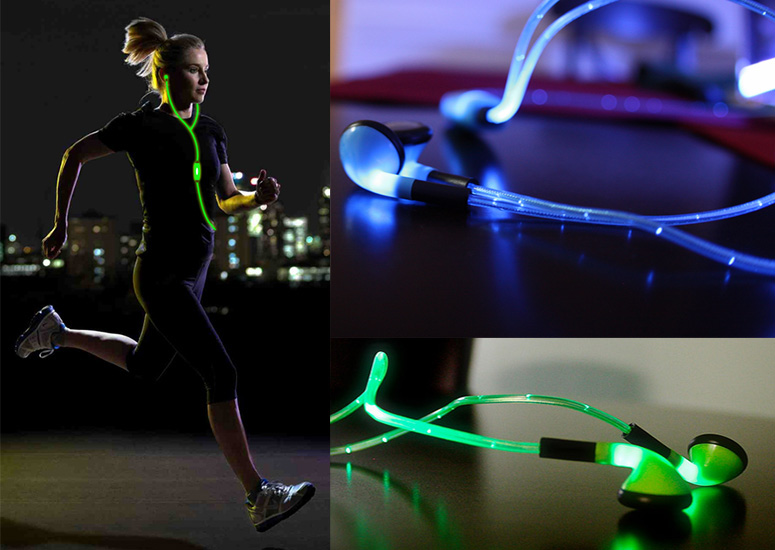iGlo Pulse - Illuminated Headphones