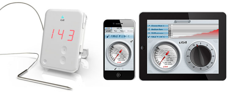 iGrill - Bluetooth Grilling/Cooking Thermometer and App for iPhone and iPad