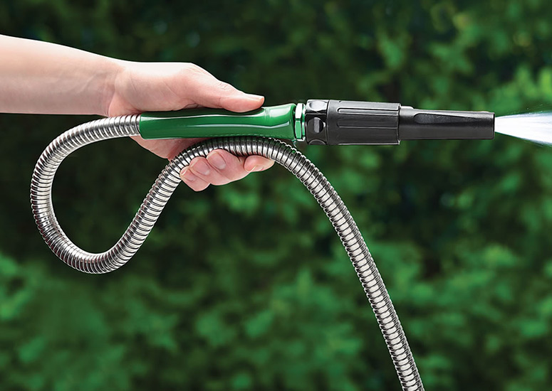 Indestructible Stainless Steel Garden Hose