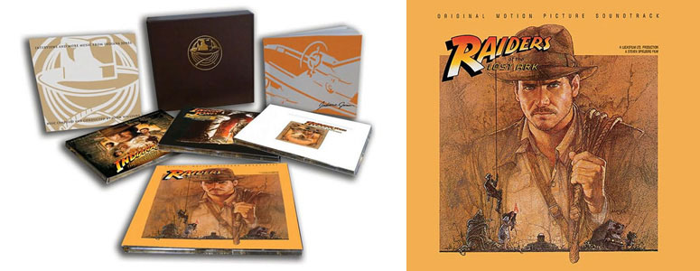 Indiana Jones The Soundtracks Collection Includes