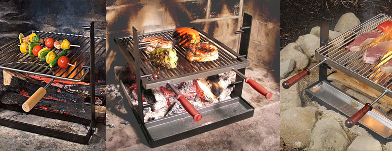 SpitJack - Indoor Fireplace Grill