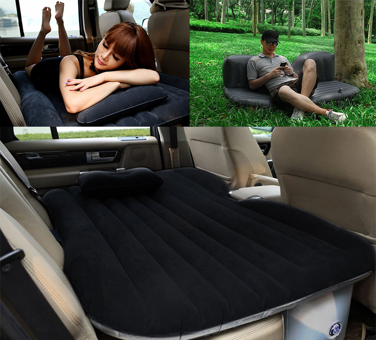 Inflatable Car Backseat Air Mattress The Green Head