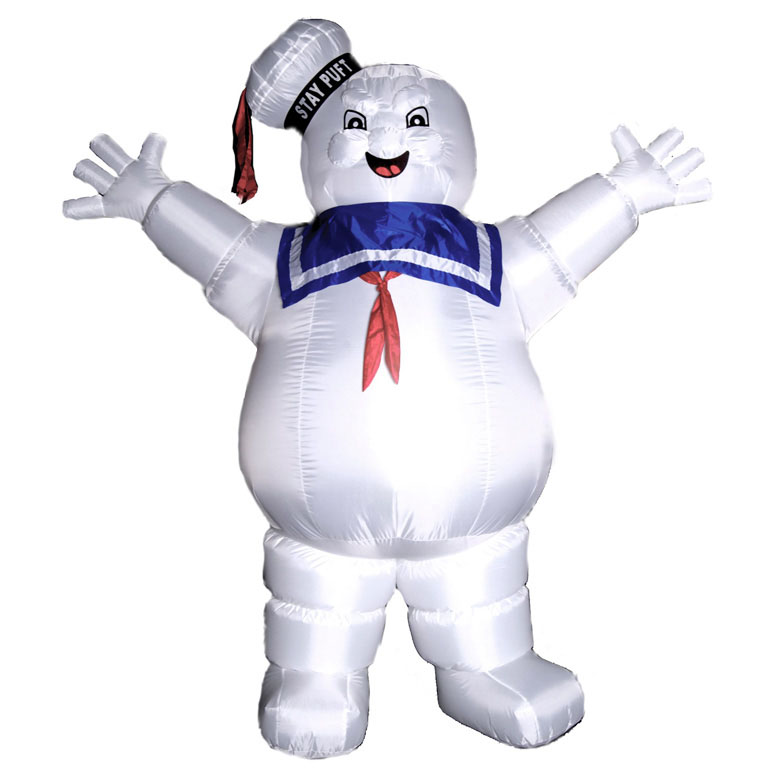 8.5' Inflatable Ghostbusters Stay Puft Marshmallow Man