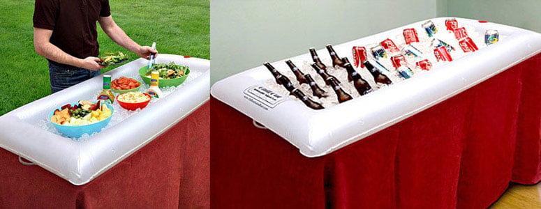 Inflatable Salad Bar Beverage Cooler