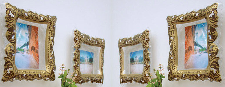 Instant Masterpiece - Inflatable Picture Frame