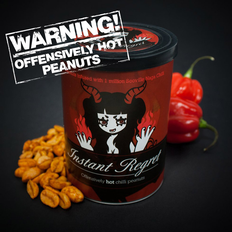 Instant Regret Offensively Hot Peanuts -  1 Million Scoville