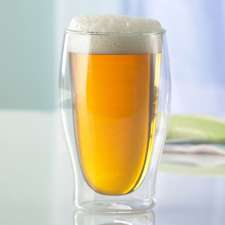 Insulated Double Wall Beer Glasses