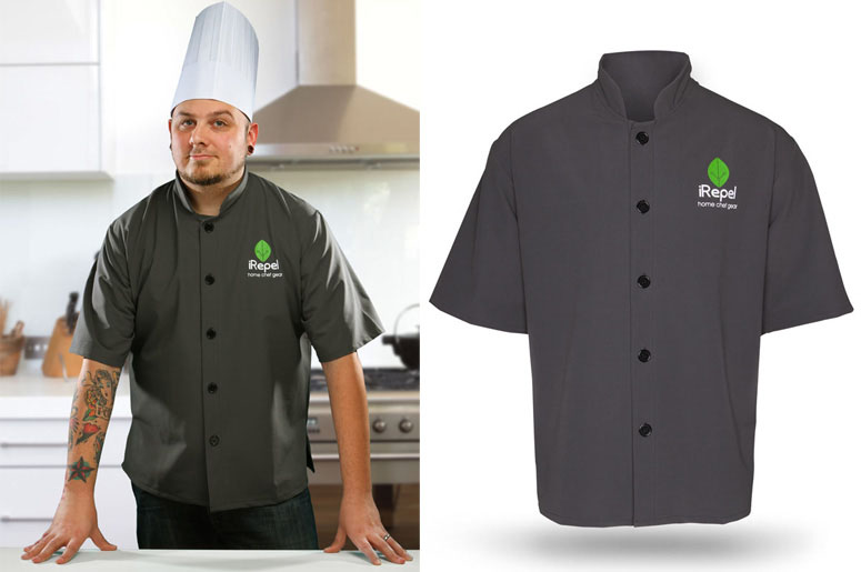 iRepel Nanotech Chef's Jacket