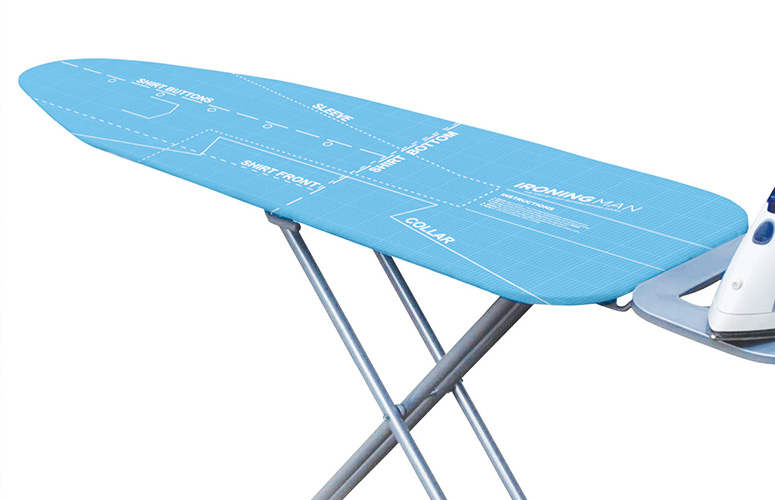 Ironing Man - Instructional Ironing Board Cover