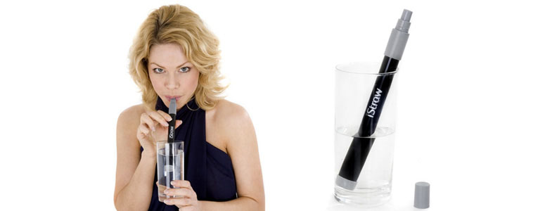 iStraw - Water Filter Drinking Straw