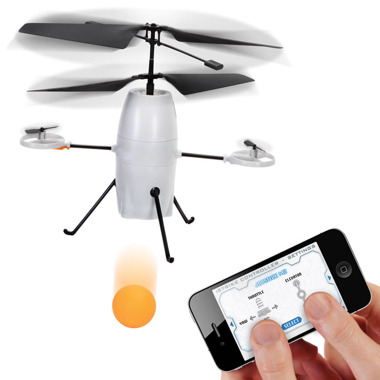 iStrike Shuttle - iPhone Controlled Ball Dropping Bomber