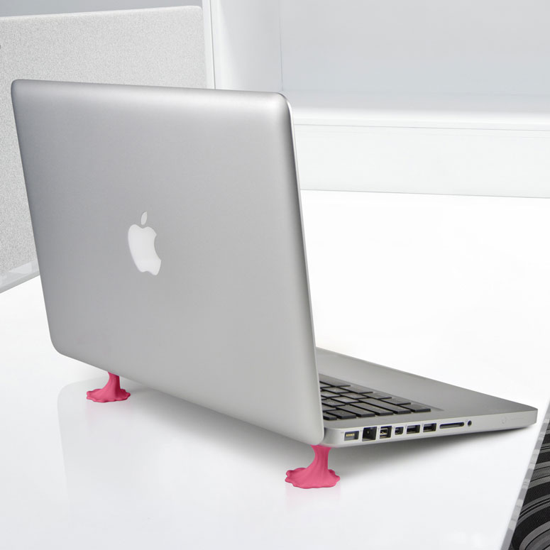 iStuck - Gummed Up Laptop Stands