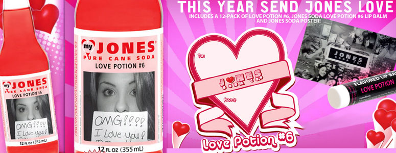 Jones Soda - Love Potion #6 Soda
