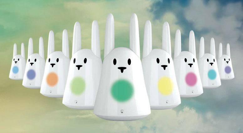 Karotz Interactive Smart Rabbit - Speaks, Sees, Listens, Obeys, Teaches and Wiggles His Ears