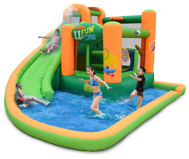 KidWise Endless Fun 11-in-1 Inflatable Bouncer and Water Slide