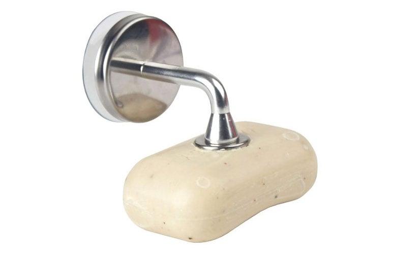 Kikkerland Magnetic Soap Holder The Green Head