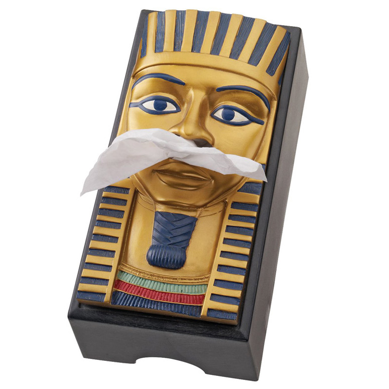 King Tut Egyptian Tissue Box Cover