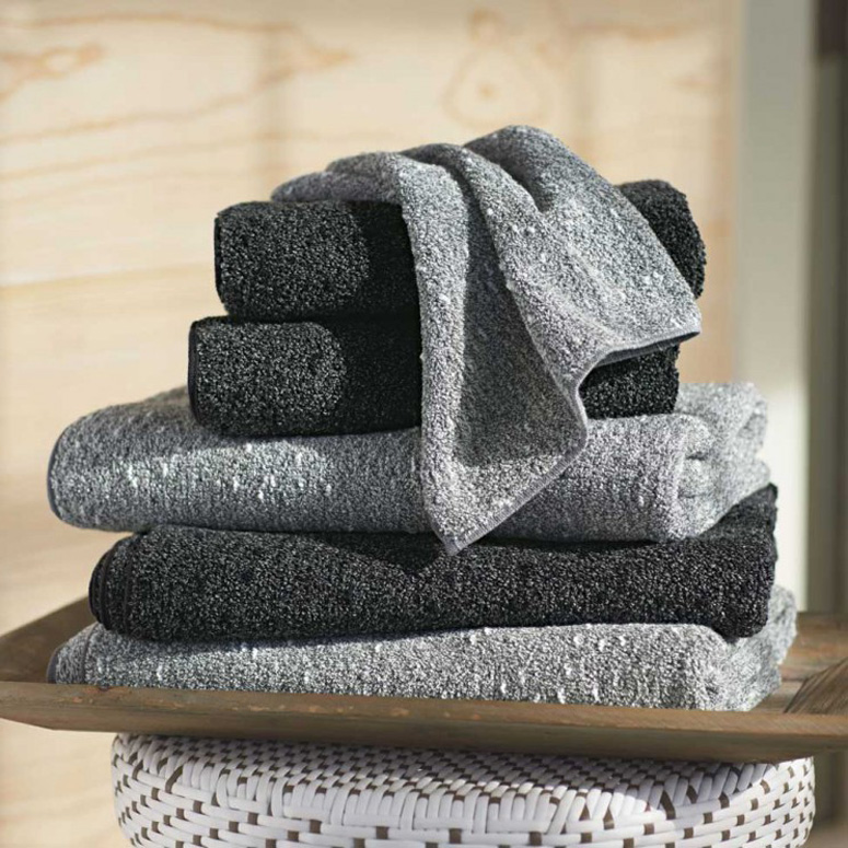 Kishu Binchotan Charcoal Bath Towels