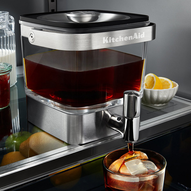 Kitchenaid cold brew coffee maker the green head for Brewery design software