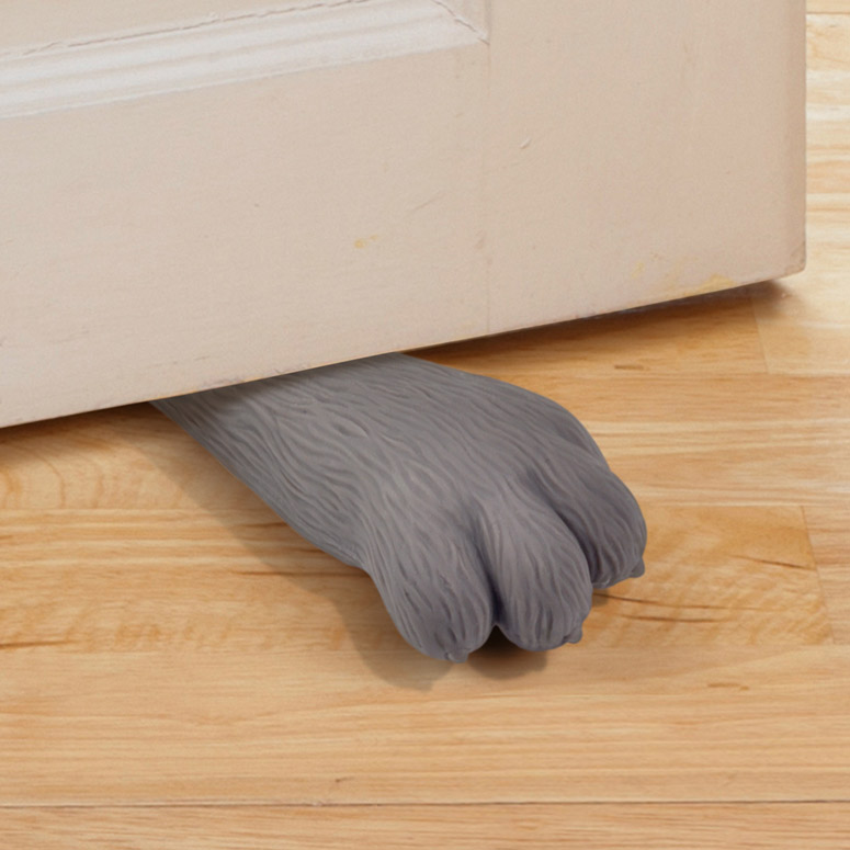 Kitty Paw Doorstop