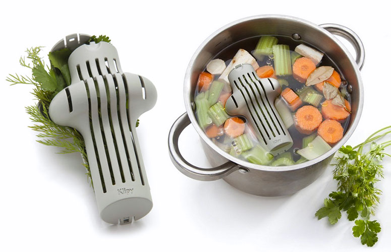 Klipy Herb Infuser - Flavors Soups, Stews and Stocks