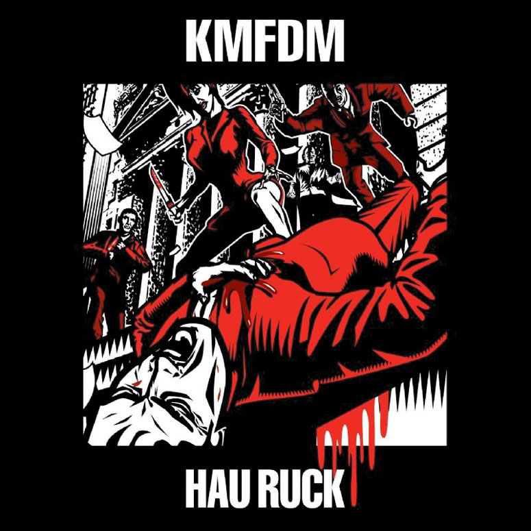KMFDM : Hau Ruck - The Green Head