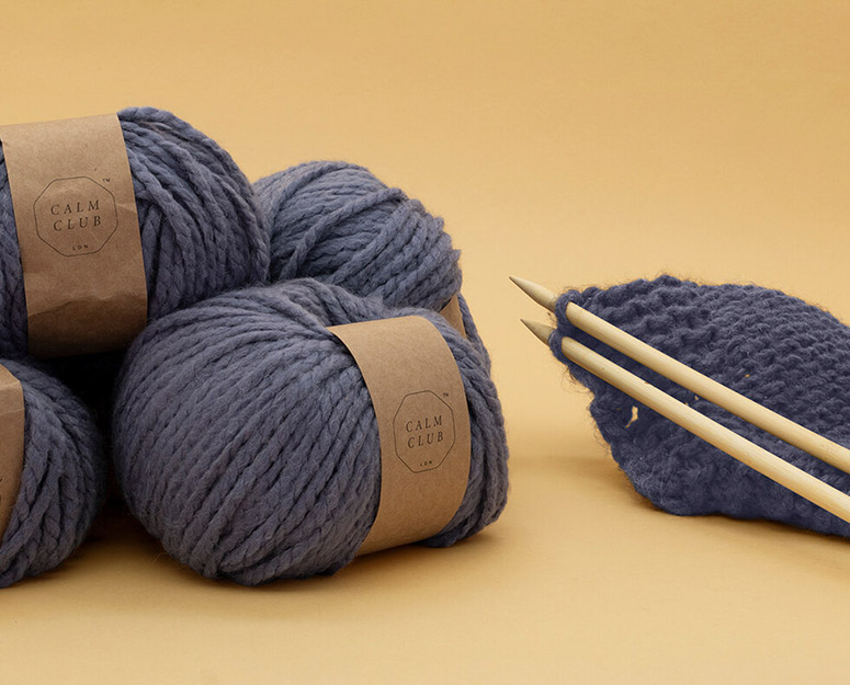 Knit Your Own Comfort Blanket Kit