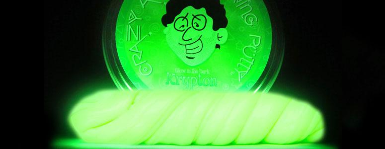 Krypton Glow In The Dark Thinking Putty The Green Head