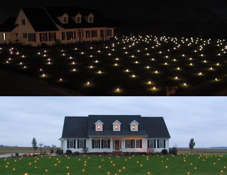 Lawn Lights - Illuminate Your Entire Yard!