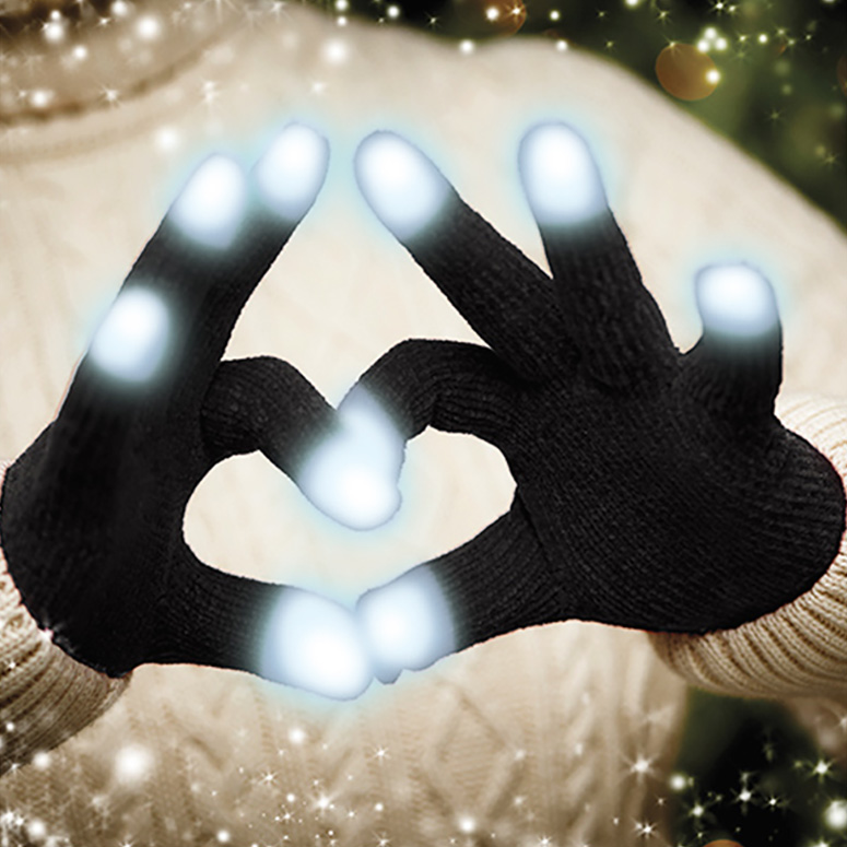 Led Glow Gloves